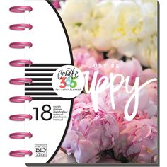 Available Now! Create 365 Classic Happy Planner - Peony Florals