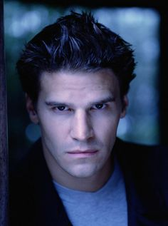 david boreanaz angel. Ridiculously attractive and painfully mysterious. It should be illegal. Season 1 episode 7