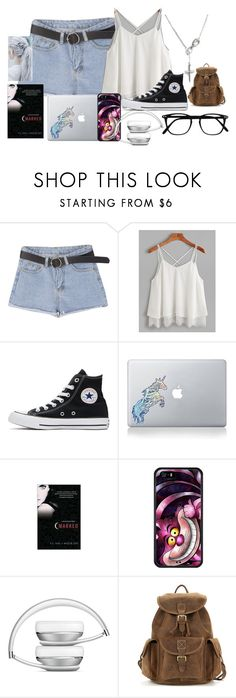 """A video call - Sofia"" by twilightphonix on Polyvore featuring Converse and Vinyl Revolution"