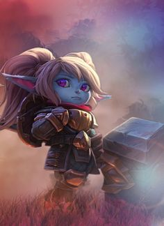 Anime Fantasy, Fantasy World, Poppy Singer, Poppy League, Poppy Images, Remembrance Poppy, Fantasy Characters, Fictional Characters, Lol League Of Legends