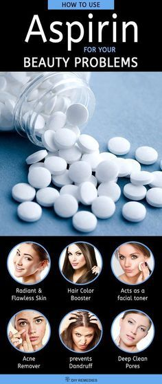 How to use Aspirin for your Beauty Problems We generally know aspirin as a medicine, used to treat your headache, fever or body ache. But do you know that aspirin is also used as a good remedy for treating many skin problems? Beauty Care, Beauty Skin, Hair Beauty, Juice Beauty, Beauty Secrets, Beauty Hacks, Facial Toner, Tips Belleza, Health And Beauty Tips