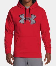 Men's UA Storm Armour® Fleece Gametime Big Logo Hoodie   Under Armour US