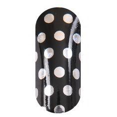 KOOKY Spots Silver & Black Wraps
