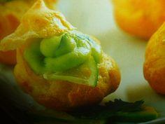bignè salati - alla polpa di granchio