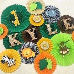 15 Best Ideas For Baby Room Jungle Safari Party Jungle Party Decorations, Jungle Theme Parties, Jungle Theme Birthday, Safari Theme Party, Baby Birthday, Birthday Decorations, Baby Shower Decorations, Birthday Party Themes, Birthday Table