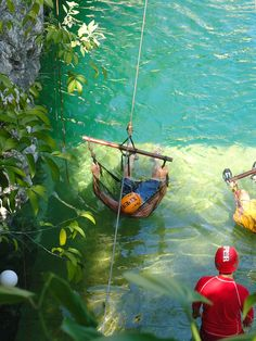 Ziplines in Playa Del Carmen Mexico.. Andrew and I went here on our honeymoon