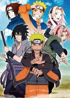 Naruto, Sasuke & Sakura (Team7)