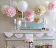 Ultimate baby shower on a budget! Tips and tutorials for how to create a gorgeous baby shower on a dollar store budget! FREE planning pack and banner printables.