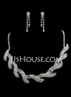 Charming Alloy/Rhinestones Ladies' Jewelry Sets (011006364)