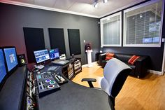 The main edit suite at OneRiver Media.
