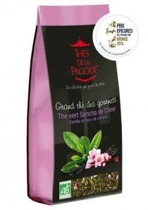 Notre Thé Vert Sencha Vanille & Fleur de Cerisier remporte l'Epicure de Bronze dans la catégorie Thés pour ses notes raffinées. #tea #thé #prixepicures