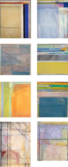 Richard Diebenkorn works