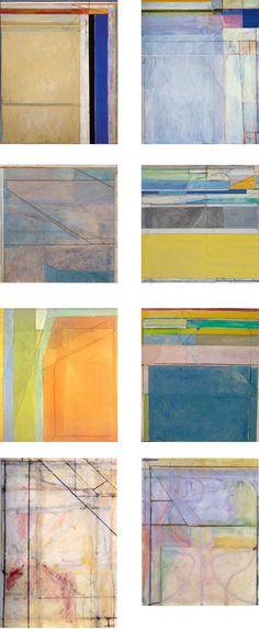 Richard Diebenkorn works