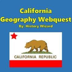 California Geography Webquest by History Wizard | TpT