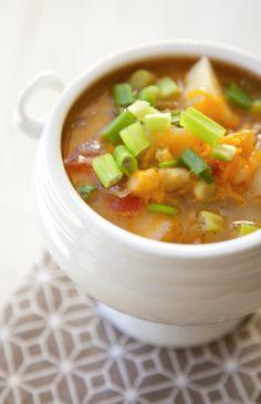 Cheesy Potato Soup Recipe