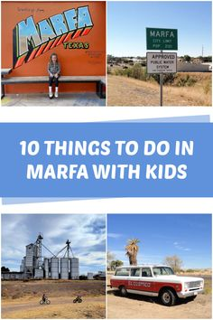 10 Things to do in Marfa Texas With Kids - C.R.A.F.T. #marfatexas #travelwithkids #texastravel