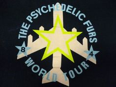 The Psychedlic Furs rare vintage t-shirt from 1984 tour. The Psychedelic Furs, Poster Design Inspiration, Punk Art, Tour T Shirts, Paint Designs, Rain, England, Posters, Painting