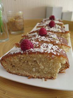 Cake à la vanille et à la noix de coco 13 gateaux cuisine antillaise 12 cakes