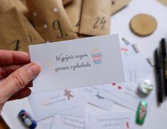 Hand lettering - co to jest i jak zrobić plakat motywacyjny Christmas Time, Dyi, Hand Lettering, Bullet Journal, Place Card Holders, Prints, Instagram Posts, Print Ideas, Bujo