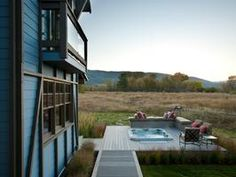 This setting, this house, THAT hot tub... Yes, yes, and um YES