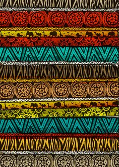 Especially patterns from various African… Tela Afrikana Summer: I love patterns. Especially patterns from various African and Islamic countries and cultures.