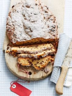 Butterstollen Thuringian style of Caseroll Holiday Baking, Christmas Baking, German Cake, Austrian Recipes, Quick Bread, Sweet Bread, How To Make Cake, Bakery, Food And Drink