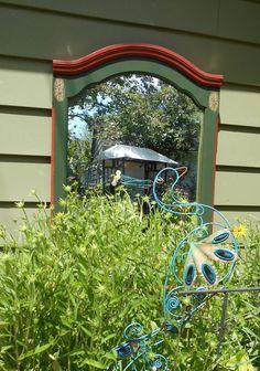 An Enchanting Idea For Your Bare Garden Walls