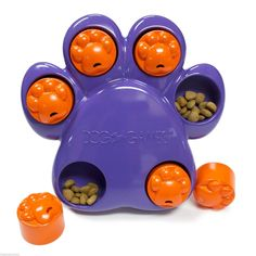 Paw Hide MINI Interactive TREAT HIDING PUZZLE GAME Problem Solving Dog Toy Small
