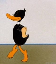 Discovered by . Find images and videos about gif and gif daffy duck funny on We Heart It - the app to get lost in what you love. Daffy Duck, Vintage Cartoons, Old Cartoons, Classic Cartoons, Animiertes Gif, Animated Gif, Disney Wallpaper, Cartoon Wallpaper, Cartoon Memes