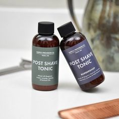 [GIVEAWAY] In honor of #Rio2016 we're holding a friendly competition between our two Post Shave Tonic scents: Juniper and newcomer Barbershop.  Help your favorite scent #goforthegold by double tapping your favorite and commenting which should win this coveted title. Your vote will enter you to win a Post Shave Tonic in your favorite scent! The winner will be announced Thursday 10 AM CST. #rockyourvote