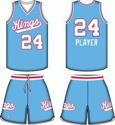 innovative design e9339 d62a4 Sacramento Kings All Jerseys and Logos