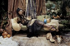 Portrait of Wangechi Mutu (2008), by Kathryn Parker Almanas