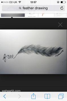 Feather# tattoo# free#