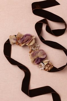 Teatime Sash in SHOP The Bride Bridal Accessories at BHLDN