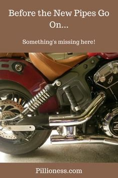 OK, Indian Scout, prepare for surgery.off with the old pipes, and get ready for the new! Big Cardboard Boxes, Preparing For Surgery, Best Motorbike, Motorcycle Exhaust, Indian Scout, New Motorcycles, Local Police, Wildlife Park, Exhausted
