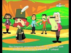 Gulliver Travels Stories - The Price of Freedom - Kids Animation Stories