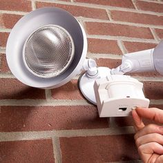 Learn the fine art of motion detector sensor adjustment and stop wasting energy illuminating passing cars and wandering neighborhood cats. With these tricks Landscape Lighting, Outdoor Lighting, Lighting Ideas, Lighting Design, Led Shop, Pond Pumps, Home Security Tips, Plumbing Problems, Motion Detector