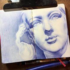 Pencil Drawings by Tatiana Caffeine