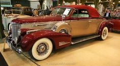 1938 Cadillac Series 90 V16 Convertible