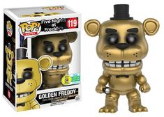 Pop! Games: Five Nights at Freddy's - Golden Freddy - Funko - SDCC Exclusive 2016