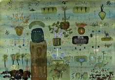 John Lurie - Charles was a saint, so he didn't understand anything here.   http://www.johnlurieart.com