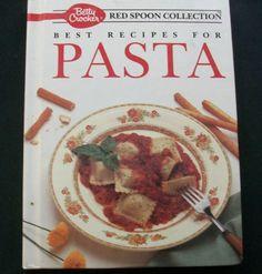 $3.00 Betty Crocker Red Spoon Collection Pasta 1990 HC (42115-853) cookbooks, spec. ed
