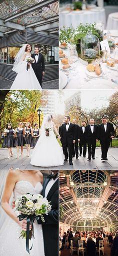 Brooklyn Botannical Garden Wedding