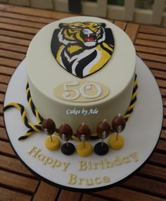 Richmond Football Club cake - June 2012