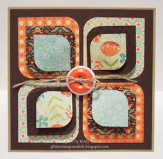 Glitter, Stamps, and Ink (Oh My...) - Dimensional Rounded Petals - Holly Brown - Designer Paper Perfection CD