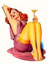 I could have been a 50's pin up girl!