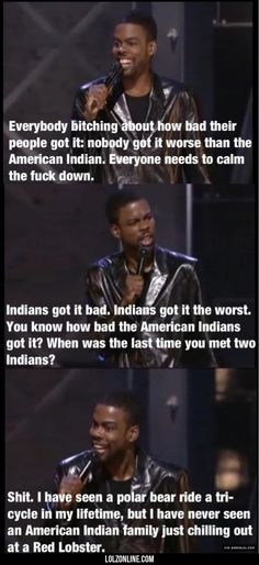 Nobody Got It Worse Then The American Indian