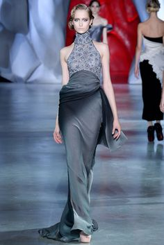 Ulyana Sergeenko Fall 2014 Couture Fashion Show - Nastya Kolbasko (WOMEN)
