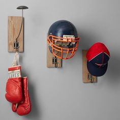 Display and store your helmet, hat, scarf and more with our Helmet Storage Wall Hook. Its two-in-one design lets you effortlessly hang your gear while stylishly showing off your adventurous side. Cool Wall Decor, Wall Shelf Decor, Wall Hooks, Teen Girl Bedrooms, Baby Boy Rooms, Teen Bedroom, Wall Game, Hat Storage, Guitar Wall