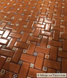 Mexican Tile - x 12 Spanish Mission Red Terracotta Floor Tile - Floor design # Climatechangeprotestsigns # Outdoorkitchenbars Spanish Style Decor, Spanish Style Bathrooms, Spanish Style Homes, Spanish House, Spanish Revival, Spanish Colonial, Brick Flooring, Kitchen Flooring, Floor Design